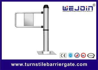 China Traffic Light  Swing Barrier Gate 110v / 220v With Steel and Aluminum Alloy Motor fábrica