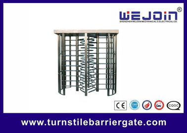 China security gates, double routeway  stainless turnstile gates , full height turnstile ,  office building gate   manufacture fábrica