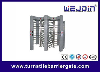China double routeway  stainless turnstile gates , full height turnstile ,  office building gate security gates , manufacture fábrica
