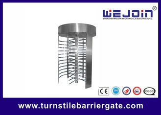 China RFID barrier gate Security Full height Turnstile for Subway , Metro fábrica