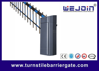 two fence boom automatic parking lot barrier for access control