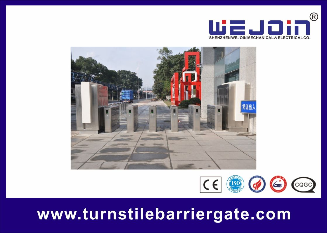 Intelligent Flap Barrier with 304 Stainless Steel Housing Used in Educational Institution fornecedor